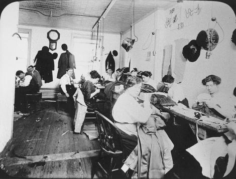 sweatshop 1910